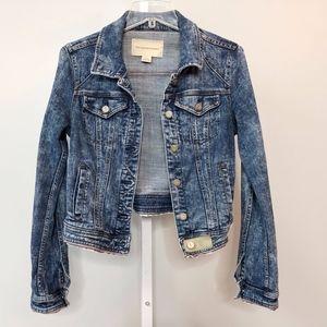 Pilrco & the Letterpress Anthro Small Jean Jacket